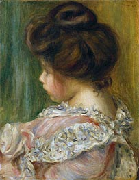 Renoir | Portrait of a Young Girl, undated | Giclée Canvas Print