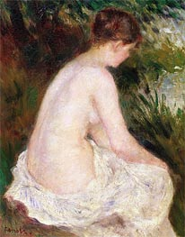 Renoir | Bather, 1879 | Giclée Canvas Print