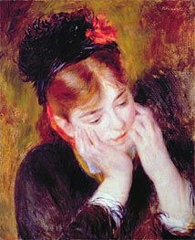 Renoir | Contemplation | Giclée Canvas Print