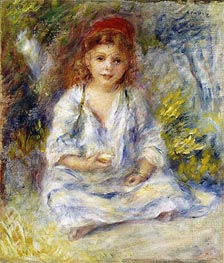 Renoir | Young Algerian Girl | Giclée Canvas Print