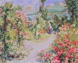 Renoir | The Conservatory | Giclée Canvas Print