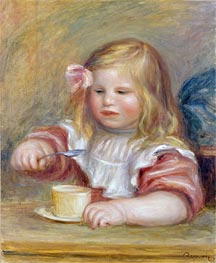 Renoir | Coco Eating his Soup | Giclée Canvas Print