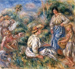 Renoir | Women in a Landscape | Giclée Canvas Print
