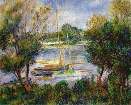 Renoir | The Seine at Argenteuil | Giclée Canvas Print