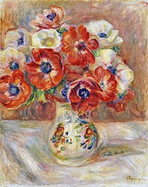 Renoir | Still Life with Anemones | Giclée Canvas Print