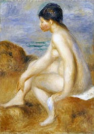 Renoir | Bather | Giclée Canvas Print