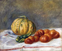 Renoir | Melon and Tomatoes | Giclée Canvas Print
