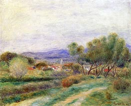 Renoir | View of La Seyne, Provence | Giclée Canvas Print