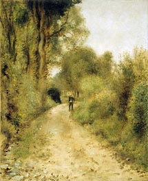 Renoir | On the Path | Giclée Canvas Print