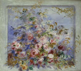 Renoir | Roses in a Window, 1879 | Giclée Canvas Print