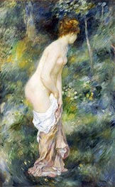 Renoir | Standing Bather, 1887 | Giclée Canvas Print