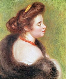 Renoir | Portrait of Madame Maurice Denis, 1904 | Giclée Canvas Print