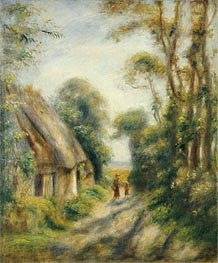 Renoir | The Outskirts of Berneval, 1898 | Giclée Canvas Print