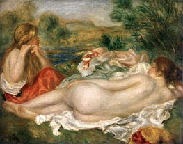 Renoir | Two Bathers, 1896 | Giclée Canvas Print