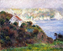 Renoir | Fog on Guernsey, 1883 | Giclée Canvas Print