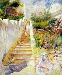 Renoir | The Steps, Algiers, c.1882 | Giclée Canvas Print