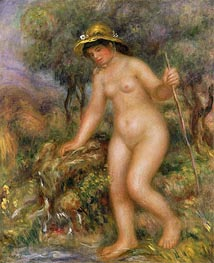 Renoir | The Source (Gabrielle Nude) | Giclée Canvas Print