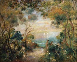Renoir | A Garden in Sorrento | Giclée Canvas Print