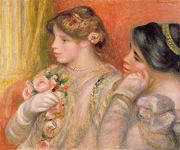 Renoir | In the Lodge, c.1908 | Giclée Canvas Print