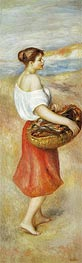 Renoir | Girl with a Basket of Fish, c.1889 | Giclée Canvas Print
