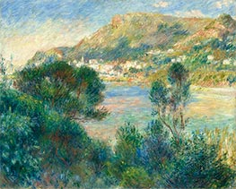 Renoir | View of Monte Carlo from Cap Martin, c.1884 | Giclée Canvas Print