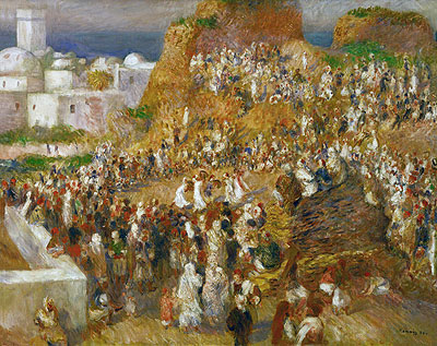 Arab Festival (The Mosque Arab Festival), 1881 | Renoir | Painting Reproduction
