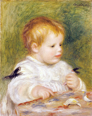 Jacques Fray as a Baby, 1904 | Renoir | Giclée Canvas Print