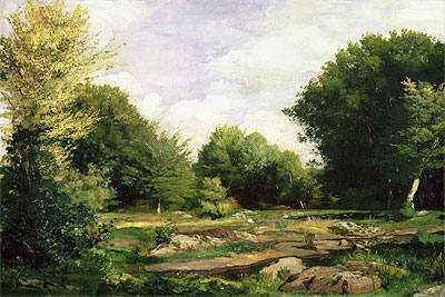 Clearing in the Woods, 1865 | Renoir | Painting Reproduction