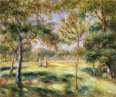 The Glade, 1895 | Renoir | Giclée Canvas Print