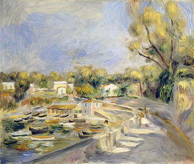 Cagnes Countryside, undated | Renoir | Giclée Canvas Print