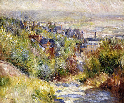 The Heights of Trouville, undated | Renoir | Giclée Canvas Print