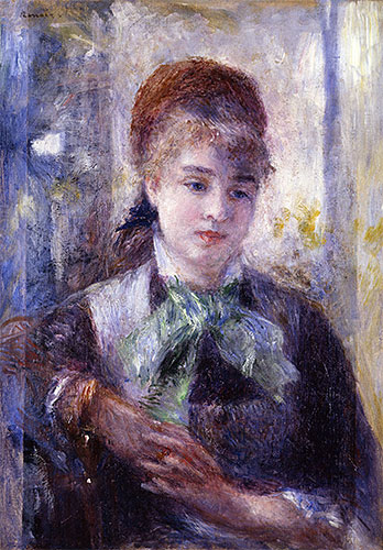 Portrait of Nini Lopez, 1876 | Renoir | Giclée Canvas Print