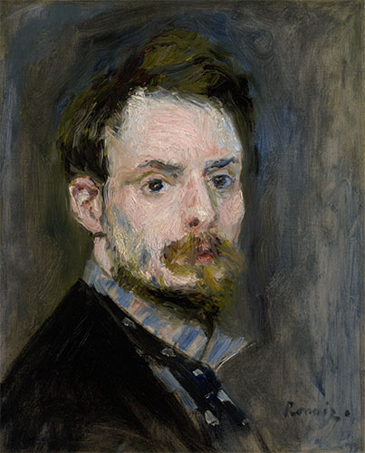 Self-Portrait, c.1875 | Renoir | Giclée Canvas Print