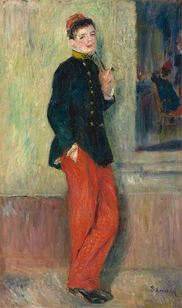 The Young Soldier, c.1880 | Renoir | Painting Reproduction