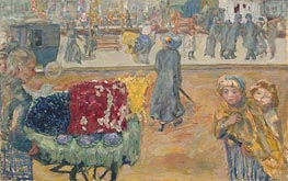 Pierre Bonnard | Evening in Paris, 1911 | Giclée Canvas Print
