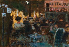 Pierre Bonnard | Cafe Terrace | Giclée Canvas Print