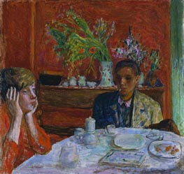 Pierre Bonnard | The Dessert (After Dinner), c.1920 | Giclée Canvas Print