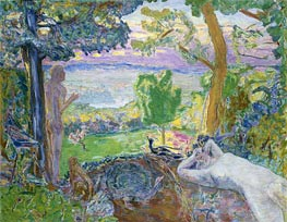 Pierre Bonnard | Earthly Paradise, 1920 | Giclée Canvas Print