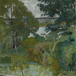 Pierre Bonnard | The Seine at Vernon | Giclée Canvas Print