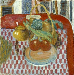 Pierre Bonnard | The Checkered Tablecloth, 1939 | Giclée Canvas Print