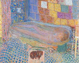 Pierre Bonnard | Nude in Bathtub | Giclée Canvas Print