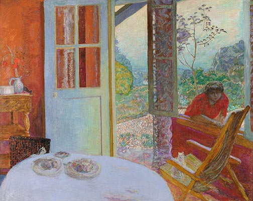 Dining Room in the Country, 1913 | Pierre Bonnard | Painting Reproduction