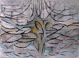 Mondrian | Blossoming Apple Tree, 1912 | Giclée Canvas Print