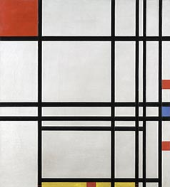 Mondrian | Abstraction, c.1939/42 | Giclée Canvas Print