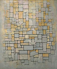 Mondrian | Composition, 1914 | Giclée Canvas Print
