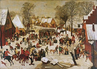 Massacre of the Innocents, a.1566 | Pieter Bruegel the Younger | Giclée Canvas Print