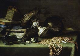 Pieter Claesz | Still Life with a Gold Chain | Giclée Canvas Print