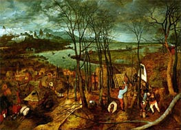 Bruegel the Elder | The Gloomy Day | Giclée Canvas Print