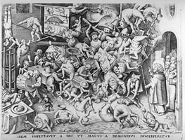 Bruegel the Elder | The Fall of the Magical Hermogenes, 1565 | Giclée Paper Print