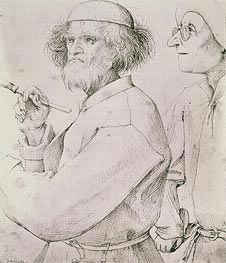 Bruegel the Elder | The Painter and the Art Lover, c.1565 | Giclée Paper Print
